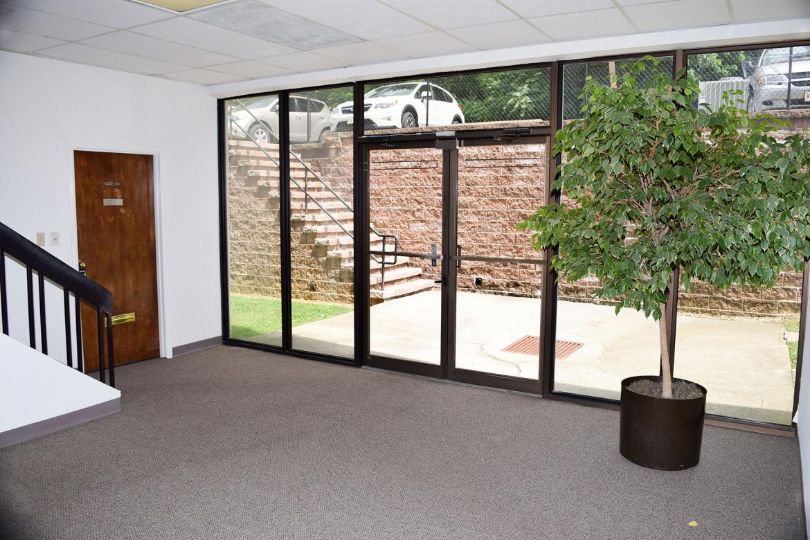 South Park Office Building- 2nd floor, rear entryway